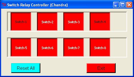 Computer-Controlled 8 ON/OFF Switches (Switcher.py)